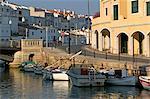 Ciutadella, port, Menorca, îles Baléares, Espagne, Méditerranée, Europe