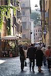Via della Lungaretta, Trastevere, Rome, Lazio, Italie, Europe