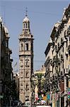 Santa Catalina église, rue de la paix, Valence, Espagne, Europe