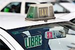 Taxi, Madrid, Spain, Europe