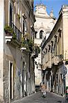 Old town, Lecce, Lecce province, Puglia, Italy, Europe