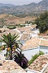 Zahara de la Sierra, one of the white villages, Andalucia, Spain, Europe