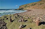 Plage de Cala carbone, Cabo de Gata, Almeria, Andalousie, Espagne, Europe