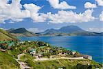 Frigate Bay, southeast of Basseterre, St. Kitts, Leeward Islands, West Indies, Caribbean, Central America
