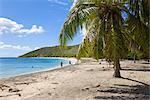 Turtle Beach on the southeast peninsula, St. Kitts, Leeward Islands, West Indies, Caribbean, Central America