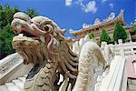 Dragon at the Long Son Pagoda, Nha Trang, Vietnam, Indochina, Asia