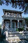 Le 1860 Richards-Dar, un musée de la maison italienne fine dans le quartier historique de la ville, Mobile, Alabama, États-Unis d'Amérique (États-Unis d'Amérique), Amérique du Nord