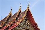 Temple, Thonburi, Thaïlande