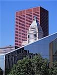 Railway Exchange Building, Chicago. Illinois - Exterior detail.