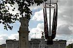 Buckingham Palace, St James' Park, London. Architect: John Nash and Edward Blore.