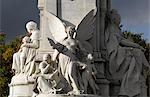 Victoria Memorial, St James' Park, London.