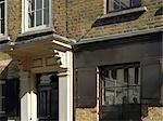 Georgian housing, Spitalfields, London.