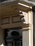 Georgian housing detail, Spitalfields, London.