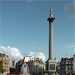 Trafalgar Square, Westminster, London.