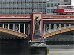 Vauxhall Bridge, London. Architect: Sir Alexander Binnie.