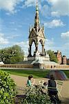 Albert Memorial, South Kensington, London, 1876. Architect: Sir George Gilbert Scott