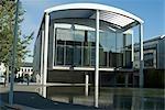 Reykjavik City Hall, Reykjavik, Iceland. 1987-1992. Exterior Office building (South). Architect: Studio Granda