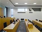 Civil Justice Centre, Hardman Boulevard, Spinningfields, Manchester. Architect: Denton Corker Marshall.