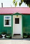 Maison de plain pied petit, Irlande du Nord.