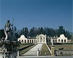 Villa Barbaro à Maser, Trévise, 1549 -58. Architecte : Andrea Palladio