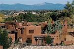 Contemporary Adobe House, Santa Fe, New Mexico