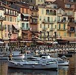 Port de Villefranche, Côte d'Azur.