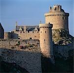 Fort La Latte, Cap Fréhel, Bretagne. Xe siècle, reconstruite du XIVe siècle.