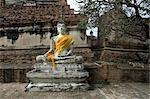 Statue, Ayutthaya, Thaïlande