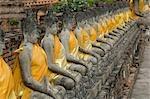 Statues, Ayutthaya, Thailand