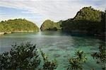 Bucas Grande île, Mindanao, Philippines