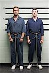 Prisonniers sur le line-up