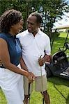 Paar, Golfen