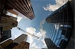 Chantier de construction et bâtiments, Toronto, Ontario, Canada