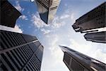 Raffles Place, Singapour Financial District, Singapour