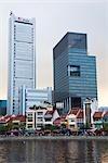 Quartier financier et Boat Quay, Singapour