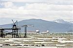 Wind Storm at English Bay, Vancouver, British Columbia, Canada