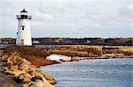 Edgartown-Leuchtturm, Edgartown, Martha's Vineyard, Massachusetts, USA