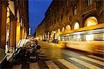 Street Scene, Via dell'Indipendenza, Bologna, Emilia-Romagna, Italy