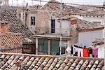 Rooftops, Borja, Aragon, Spain