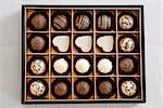 Schokoladen-Vielfalt in Box