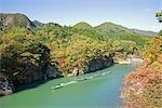 Boating in Kinugawa River,Tochigi Prefecture,Nikko-Shi,Japan