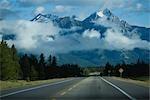 View of Rocky Mountain North America,Alberta