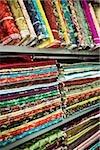 Textiles dans le marché de shanghai