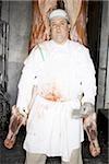Boucher permanent avec carcasse en suspension