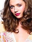 'Barbie' pink make-up look