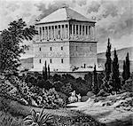 MAUSOLÉE À HALICARNASSUS TURQUIE SEVEN WONDERS BODRUM ANCIEN ROI