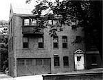 4203 LOCUST STREET PHILADELPHIA PA ABOUT 1929 BRICK BUILDING TWO CAR GARAGE