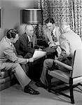 1950s MEETING MEN BUSINESS