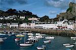 Port de Mont Orgueil, Jersey, Channel Islands, Royaume-Uni, Europe