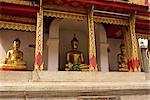 Wat Haripunchai Temple, Lampoon, Thailand, Southeast Asia, Asia